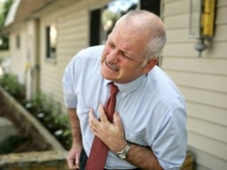 Reifer Mann- Herzinfarkt