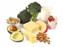 Nahrungsmittel mit enthaltenen Mineralstoffen
