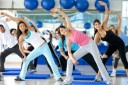 Bild Aerobic Kurs im Sportstudio